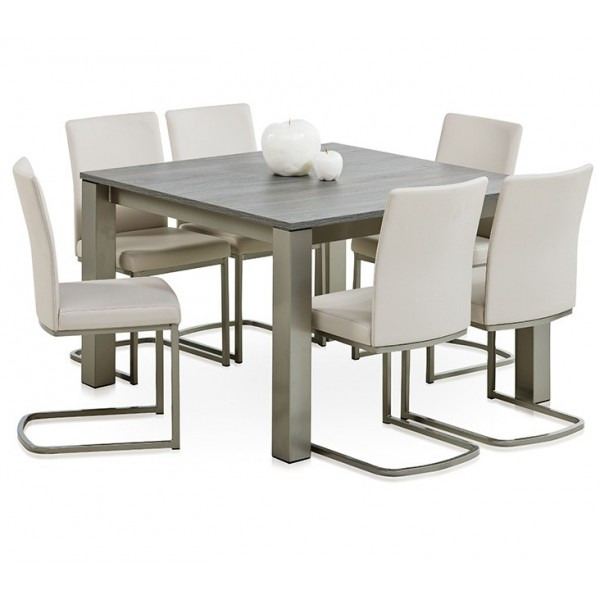 valencia ensemble table carr e 6 chaises tables chaises au meubles haan. Black Bedroom Furniture Sets. Home Design Ideas