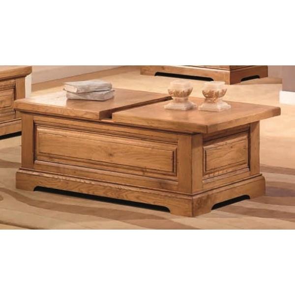 Honfleur table coffre tables de salon au meubles haan for Table salon coffre