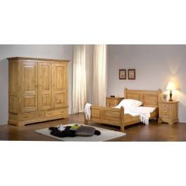 Honfleur Chambre chêne massif Chambres à coucher au Meubles Haan.