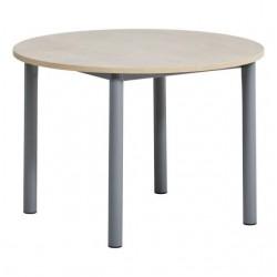 Table ronde à allonges