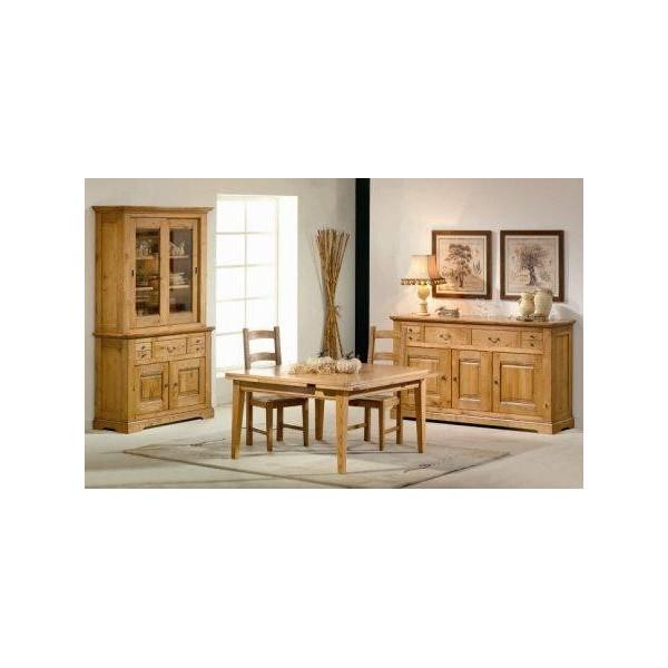 honfleur salle manger chene massif salles manger au meubles haan. Black Bedroom Furniture Sets. Home Design Ideas