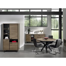 Meuble de living chene